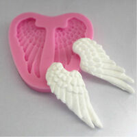 3D Angel Wings Silicone Mold Fondant Chocolate Sugar Craft Cake Decorate Tools
