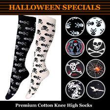Nylon Machine Washable Knee-High Socks for Women
