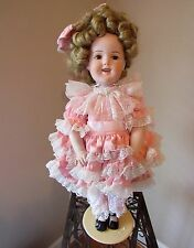 "SHIRLEY TEMPLE 24"" REPRODUCTION DOLL FOR GIFT SHOP IN LAS VEGAS, NEVADA   $699"