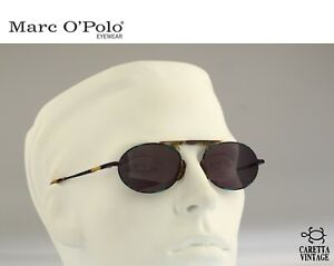 Marc O'Polo by Metzler 3316 744 Vintage 90s colorful small oval sunglasses
