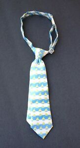 Childrens Place Infant Toddler Tie Sailboats White Blue Yellow Sz 6-18 Months