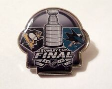 LOT of 15 PINS -2016 NHL Stanley Cup Final Dueling Pin - Sharks vs. Penguins