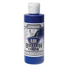 Jacquard Air Brush Colours Paint for Shoes / Sneakers - Transparent Blue - 4oz