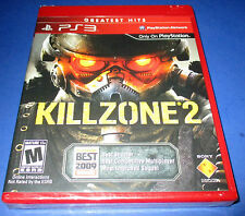 Killzone 2 Sony PlayStation 3 (PS3) Factory Sealed! Free Shipping!