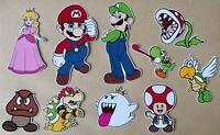 Super Mario & Friends Card Making Toppers -  Die Cut - 10 Pieces  - Crafts