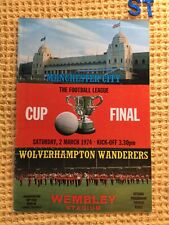 More details for programme league cup final wolverhampton wnderers v manchester city 1974