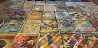 POKEMON 50 CARD GIFT LOT ULTRA RARE IN EVERY BUNDLE -V GX EX M FULL ART VMAX
