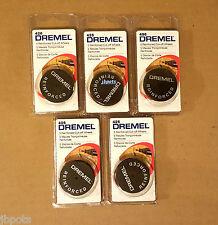 5 Packs Of 5 Dremel 426 1-1/4 in. Fiberglass Reinforced Cut-Off Wheels 25 Qty