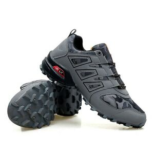 2020 Men Bicycle Shoes MTB Non-locking Bike Shoes Race Sneakers Hiking Shoes
