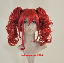 ELIZABETH ~RED~ COSPLAY COSTUME PARTY HAIR WIG NEW RARE