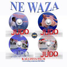 Judo. Collection 4 DVD. Ne waza. 245 min (Disc only).