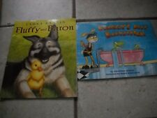 SET OF 2 Froggy's Best Babysitter by Jonathan London 2011 Paperback FLUFFY BARON