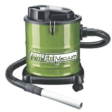 Ash Vacuum Cleans Warm Cool Wood Ashes Fireplace Pellet Stove 3-Gallon Canister