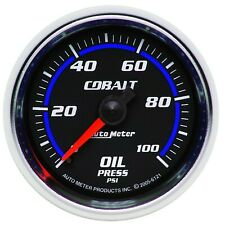 Autometer Cobalt Oil Pressure Gauge 0-100PSI 2-1/16in