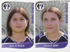 573 GINA DI NATALE - REMY BELGIQUE BRAINE-REBECQ STICKER FOOTBALL 2009 PANINI