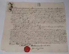 Bürgerbrief Berlin 1751 Für Bierbrauer C RÜhl; Signatur K.d Kircheisen