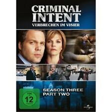 CRIMINAL INTENT SEASON THRE PART TWO 3 DVD NEU VINCENT D'ONOFRIO,JAMEY SHERIDAN