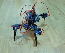 "Quadruped Four Feet Robot ""Hexapod"" Spider Arduino DIY Robot KIT 8DOF NO SERVOS"