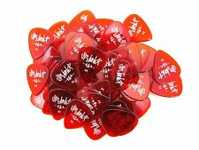 Dunlop Guitar Picks Gels 72 Pack Heavy Red