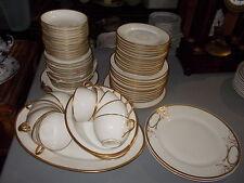 "63 Pieces - HAVILAND Limoges ""Wedding Ring"" China"