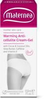 Maternea Riscaldante Anti-cellulite Crema 150ml-Caffeine,Cacao Burro ,Nutrienti