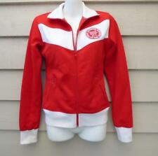 EVERLAST NY retro  RED WHITE track JACKET 8 10 ZIP top BUY 3+ ITEM = FREE POST