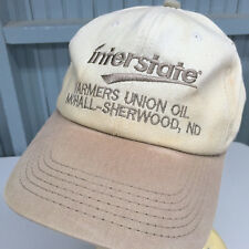 Interstate Farmers Union North Dakota Beat Up Snapback Baseball Cap Hat