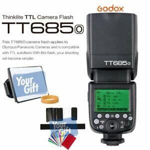 UK Godox TT685O 2.4G TTL HSS GN60 Speedlite Flash for Olympus Panasonic Camera