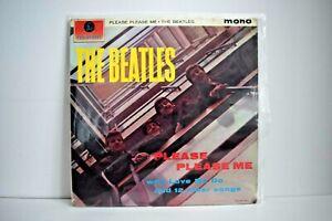 VINYL - The Beatles 'Please Please Me' Mono, 4th Pressing