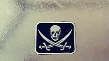 Jolly Rogers Pirate Patch. HARLEY Outlaw 1%er Viking.