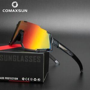 New Bike Professional Polarized Cycling Glasses Sports Sunglasses UV400 3 Lens