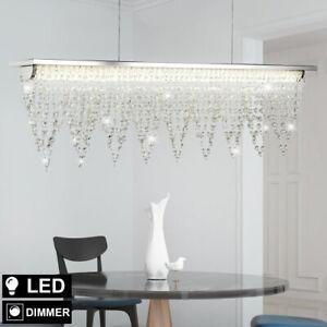 LED Pendule Plafonniers Clients Chambre Verre Cristal Lustre Lampe Suspendue