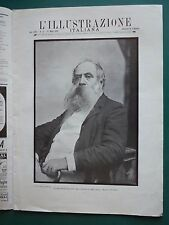 1904 PITTORE MOSE' BIANCHI NAGASAKI YOKOHAMA GIAPPONE TRIPOLI PIO X GUGLIELMO II