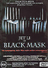 Black Mask DVD Jet Li John Woo Action Movie - AUSTRALIAN REGION 4 PAL RELEASE