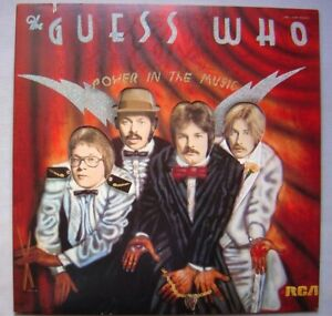 The GUESS WHO : power in the music (LP).  Pressage US.  TB état.