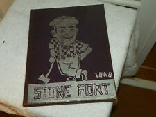 1949 STEPHEN F AUSTIN UNIVERSITY SFA Nacogdoches TX Yearbook Annual Stone Fort