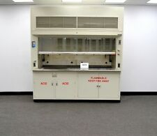 Chemical 8' Dura Lab Fume Hood with Epoxy Top & Acid / Flammable Cabinets -