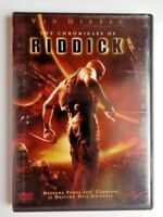DVD The Chronicles of Riddick (2004) Vin Diesel Film Azione Cinema Video Movie