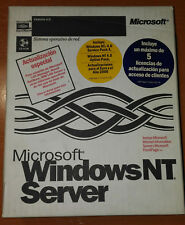 Windows NT Server 4.0   5 Licencias Service Pack 4  + Frontpage 98 Español