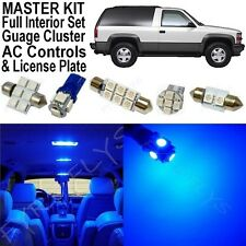 32x Blue LED lights interior package + AC & Gauge cluster 1992-1999 Tahoe/Yukon