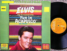 ELVIS PRESLEY - FUN IN ACAPULCO Very rare near Mint german orange Label LP!