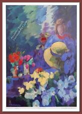 Flower Stall by Zora Buchanan