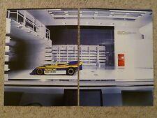 1971 Porsche 917/30 Spyder Advertising 2 Poster Set RARE!! Awesome L@@K