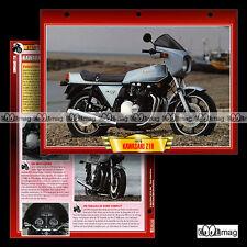 #061.03 Fiche Moto KAWASAKI Z1R (Z 1000) 1978-1980 Motorcycle Card