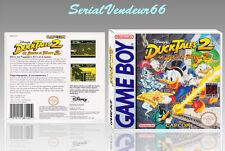 """Boitier du jeu """"DUCK TALES 2"""", Game Boy. Nintendo. PAL FR. HD. SANS LE JEU."""