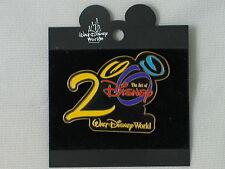 1999 DISNEY WDW BLACK ART OF DISNEY 2000 PIN NEW ON CARD 789