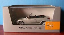 OPEL ASTRA TWINTOP SILVER MINICHAMPS 1/43 CABRIOLET ARGENTE ROADSTER