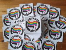 25 Anti Homophobe Aktion Aufkleber Anti Nazi Gay Lesbian LGBT Punk HC AFA GNWP