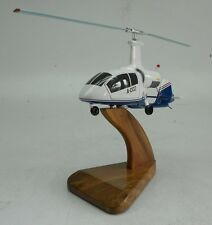 Irkut A-002 Russia Autogyro Helicopter Desk Wood Model Free Shipping Large New