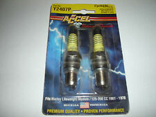 Accel Cycle Lite Harley Davidson 125-350cc Dirt Bike Motorcycle Spark Plug 2 Pc